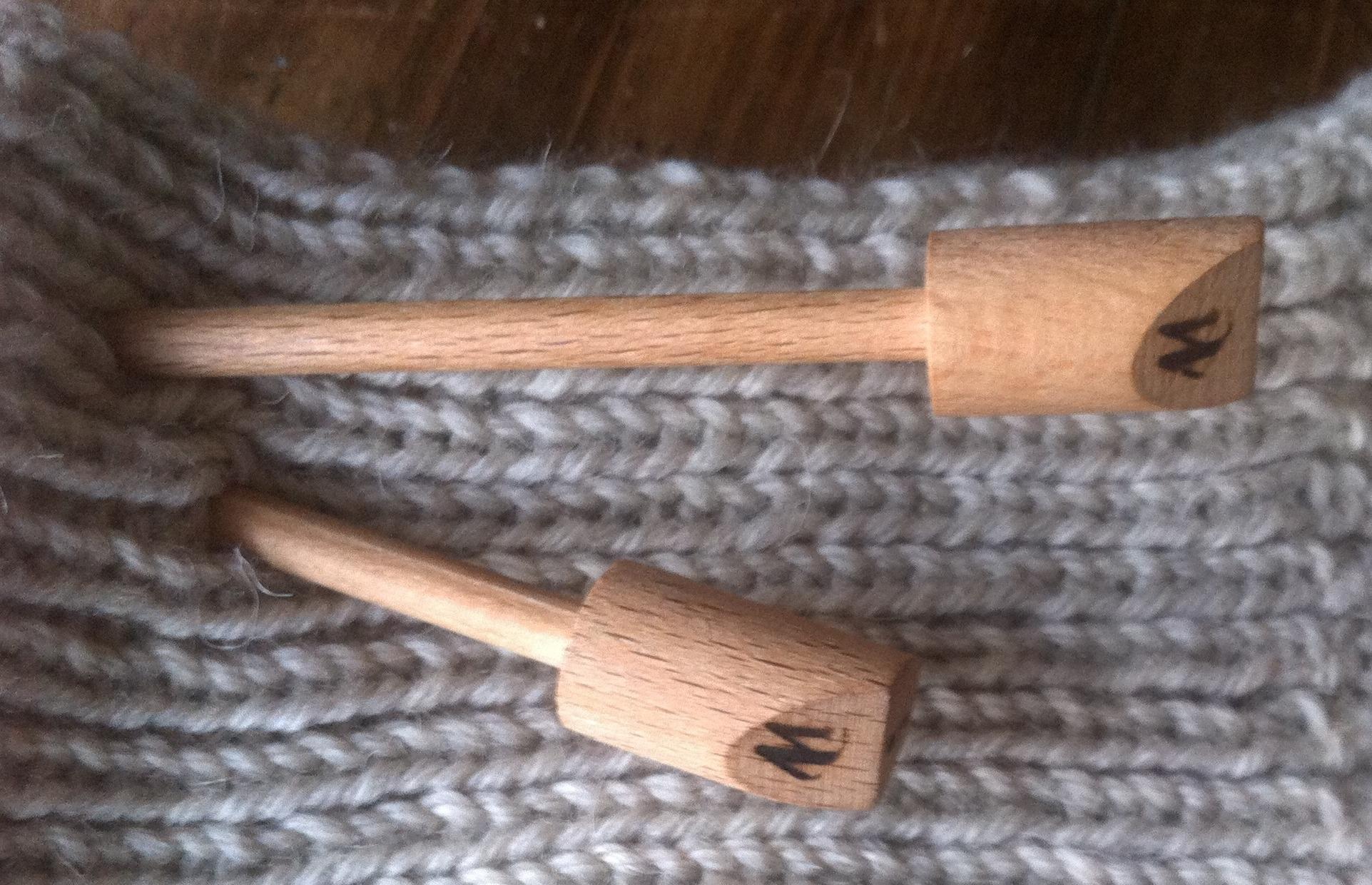 sustainable knitting needles