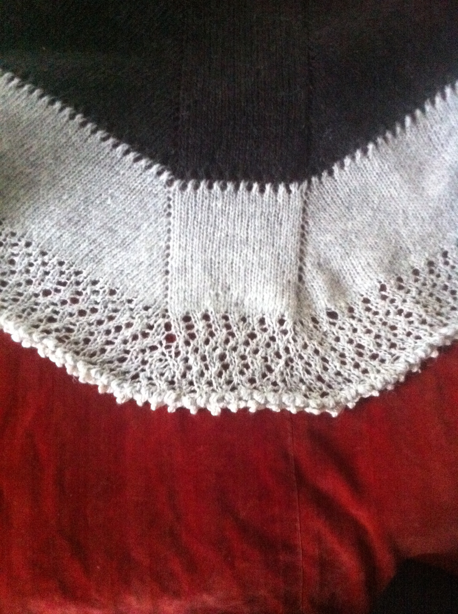 Easy Lace Edging Knitting Pattern : How to knit a shawl Scandinavian Knit