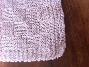 Checkerboard knitting stitch. Scandinavian Knit