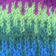 Detail from the shawl