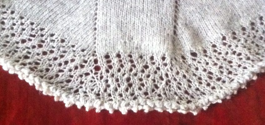 Easy oxygen shawl a free pattern from Scandinavian Knit