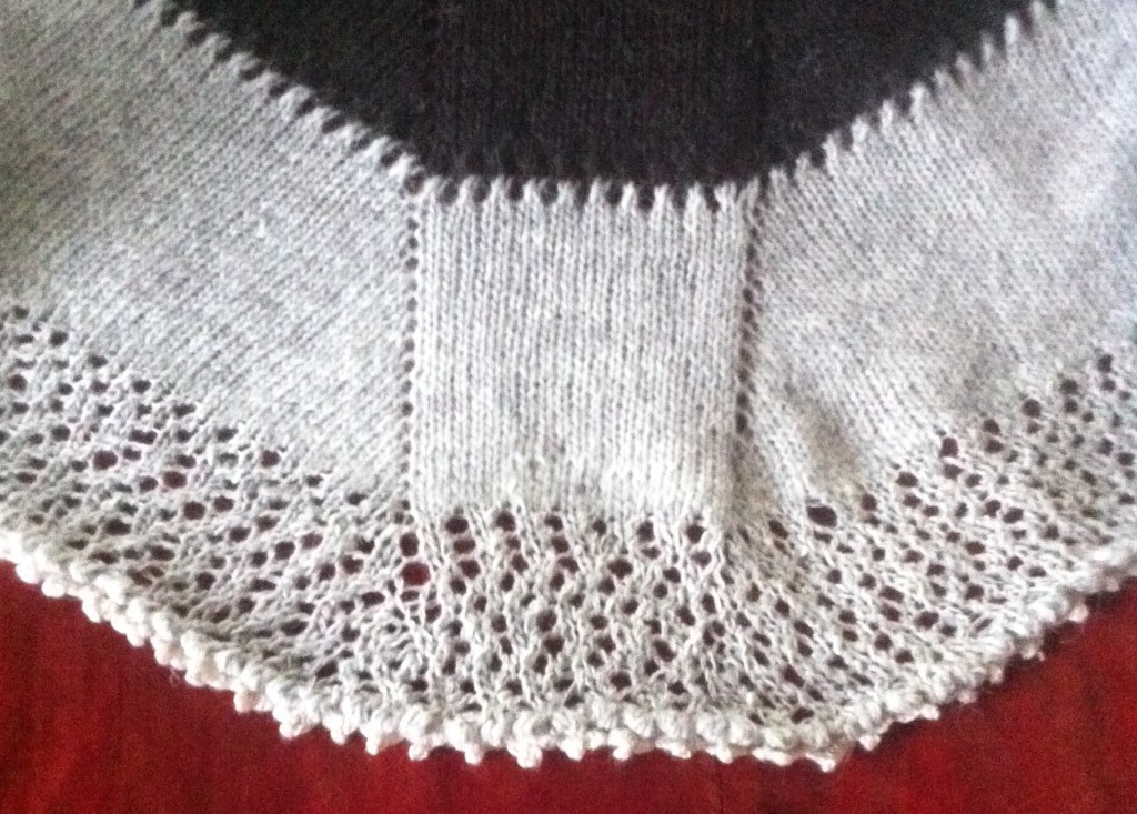 Oxygen shawl. Scandinavian Knit