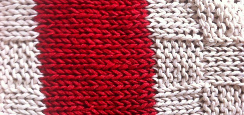 checkerboard knitting
