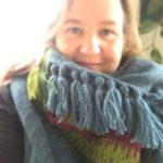 The designer behind Scandinavian Knit, Thea Dam Søby