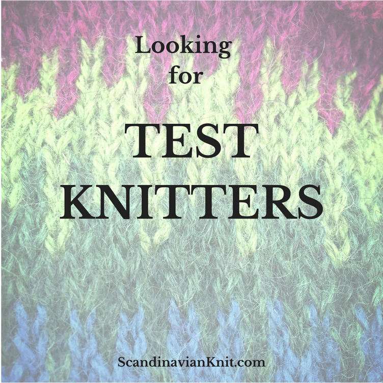 scandinavian knit - looking for test knitters