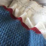 Babytæppet - boblebær fra Scandinavian Knit