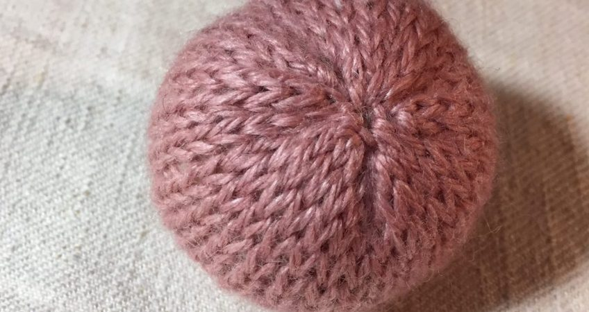 Lille bold med lavendel. Scandinavian Knit